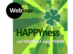 Webinar: HAPPINESS - 4 myself and for others!