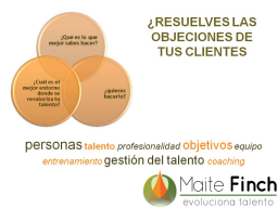 Webinario: RESUELVES LAS OBJECIONES DE TUS CLIENTES?
