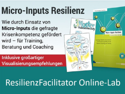 Resilienz-Facilitator Online-Lab für Trainer, Berater und Coaches