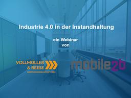 Webinar: Industrie 4.0  in der Instandhaltung