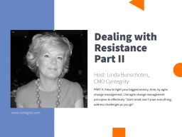 Dealing with Resistance - Facilitate Successful RBQM, Part II