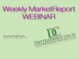 Webinar: Weekly MarketReport