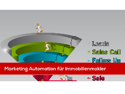 Marketing Automation mit Verkaufsfunnel für Immobilienmakler