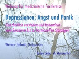 Webinar: Depressionen, Angst und Panik - ganzheitlich verstehen und behandeln