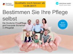 Webinar: Münchener Verein - Neue Deutsche PrivatPflege