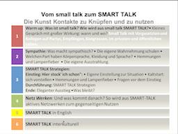 Webinar: Vom small talk zum SMART talk - Die Kunst Kontakte zu knüpfen und zu nutzen Teil 1 + 2