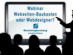 Webinar: Webdesigner oder Baukasten?