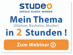 Webinar: Thesis-ABC: Mein Thema in 2 h
