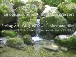 Webinar: Lebendiges Wasser