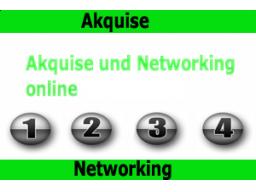 Webinar: Akquise und Networking online und offline
