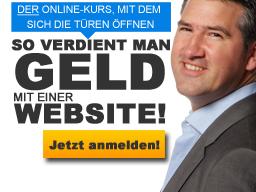 Webinar: So verdient man Geld mit einer Website!
