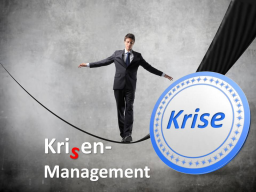 Webinar: Krisenmanagement (Selbstexploration)