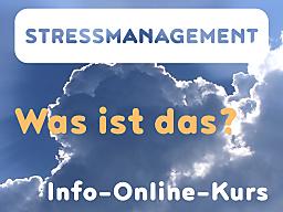 Webinar: Stressmanagement - Was ist das?