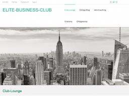 Webinar: ELITE-BUSINESS-CLUB  Topthema Kommunikationstest Nischenstrategie