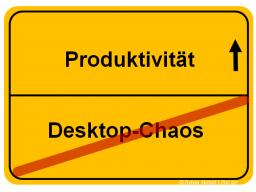 Webinar: Aufgeräumter Desktop - effektiv arbeiten am PC