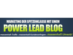 Webinar: Gratis  1.638 Leads und Interessenten mit der Power Lead Technik