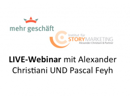 Webinar: LIVE-Webinar mit Alexander Christiani und Pascal Feyh