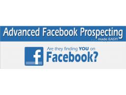 Webinar: Facebook Prospecting