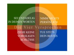 Webinar: Dein perfektes Kommunikationstraining ...mit den 4 Versprechen