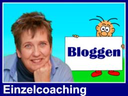 Webinar: Bloggen mit Blogger (Einzelcoaching)