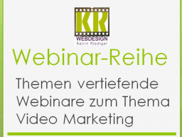 Webinar: Video Marketing - Effektive Keyword-Recherche