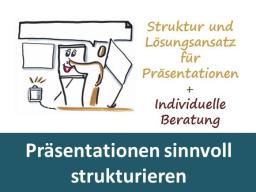 Webinar: Präsentationen sinnvoll strukturieren - Einzeltraining