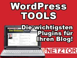 Webinar: WordPress Tools: Die wichtigsten Plugins für Ihren Blog!