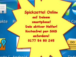 "Webinar: for students only - ""Spickzettel online"""