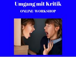 Webinar: Workshop: Umgang mit Kritik