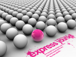 Webinar: Express Yourself © Be yourself - Be different !