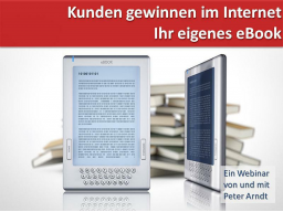 Webinar: Webinar Kompaktkurs - Teil 3 - eBook erstellen