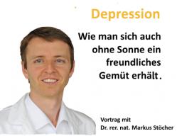 Webinar: Depression- Wie man sich auch ohne Sonne ein freundliches Gemüt erhält