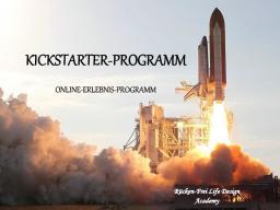 Webinar: Kickstarter-Programm der Rücken-Frei Life Design Academy