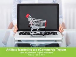 Webinar: Affiliate-Marketing als eCommerce-Treiber
