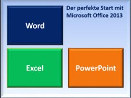 Webinar: Der perfekte Start mit Microsoft Office 2013