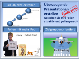 """Webinar: 6-teilige Live Online Seminarreihe """"Überzeugende Präsentationen erstellen mit PowerPoint"""""""