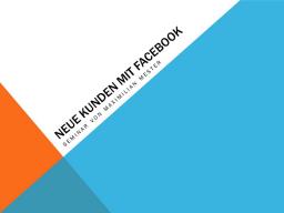 Webinar: So erreichen Sie mit Facebook neue Kunden.