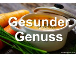 Webinar: Gesunder Genuss - Speiseplan einer Diätassistentin