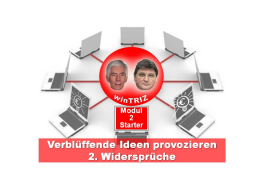 Webinar: winTRIZ Starter-Modul 2 -  Widerspruch