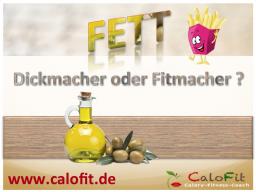 Webinar: Fett - Dickmacher oder Fitmacher