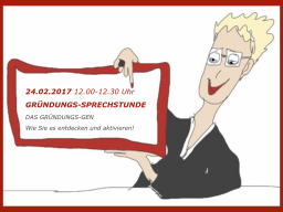 Webinar: DAS GRÜNDUNGS-GEN - Wie Sie es entdecken und aktivieren!