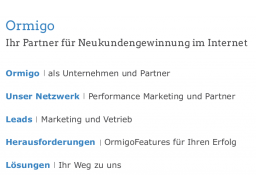 Webinar: Ormigo - Ihr Partner für Neukundengewinnung im Internet