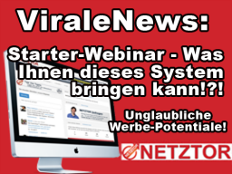 Webinar: Virale News: Starter-Webinar