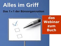 Webinar: Tagesplanung fürs Büro