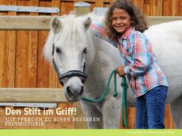 Webinar: Den Stift im Griff - mit Pferden zu einer besseren Feinmotorik!