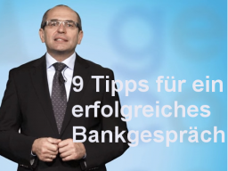 Webinar: Haben Sie Ihre Bank im Griff?