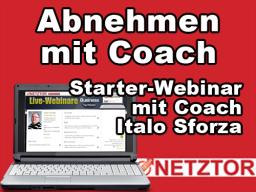 Webinar: Abnehmen mit Coach - Starterwebinar mit Italo Sforza