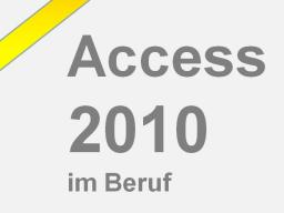 Webinar: Access ganz leicht lernen