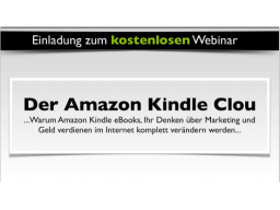 Webinar: Der Amazon Kindle Clou