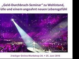 Webinar: Heile Deine Beziehung zu Geld - Durchbruch-Seminar für mehr Geld-Fülle und Leichtigkeit
